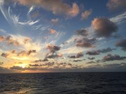 Sunset in the NPSG