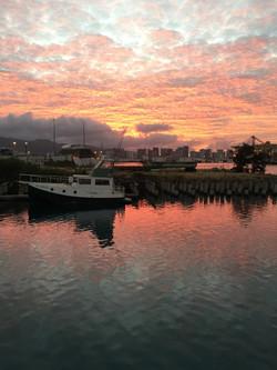 Sunrise at Snug Harbor