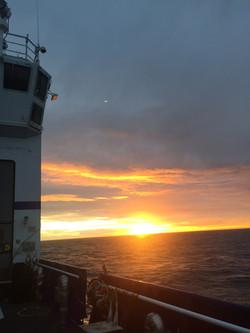 Beaufort Sea Sunset