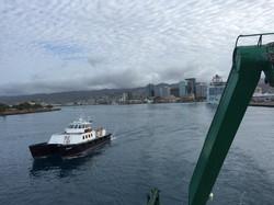 Departing Snug Harbor
