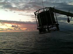 CTD Deployment, R/V Atlantis