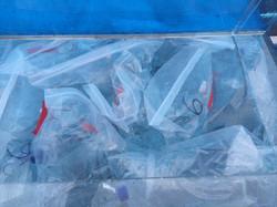 Trace metal clean ziplock bags