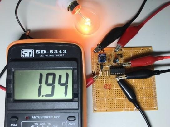 電流IC量測示意圖