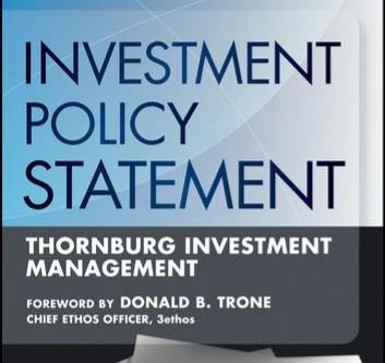[投資理財] 定下你的投資政策說明IPS(Investment policy statement)