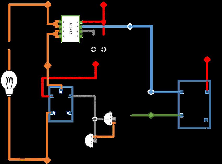 使用單晶片控制燈泡開關系統架構圖.png