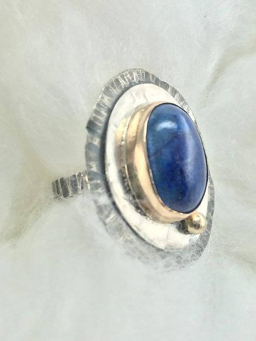 Roman Lapis Ring