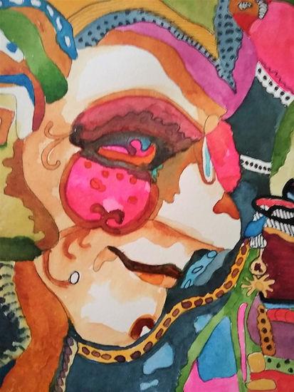 Masquerade - Candi Bailey - Watercolor -