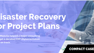 Case Study: Disaster Recovery for Project Plans