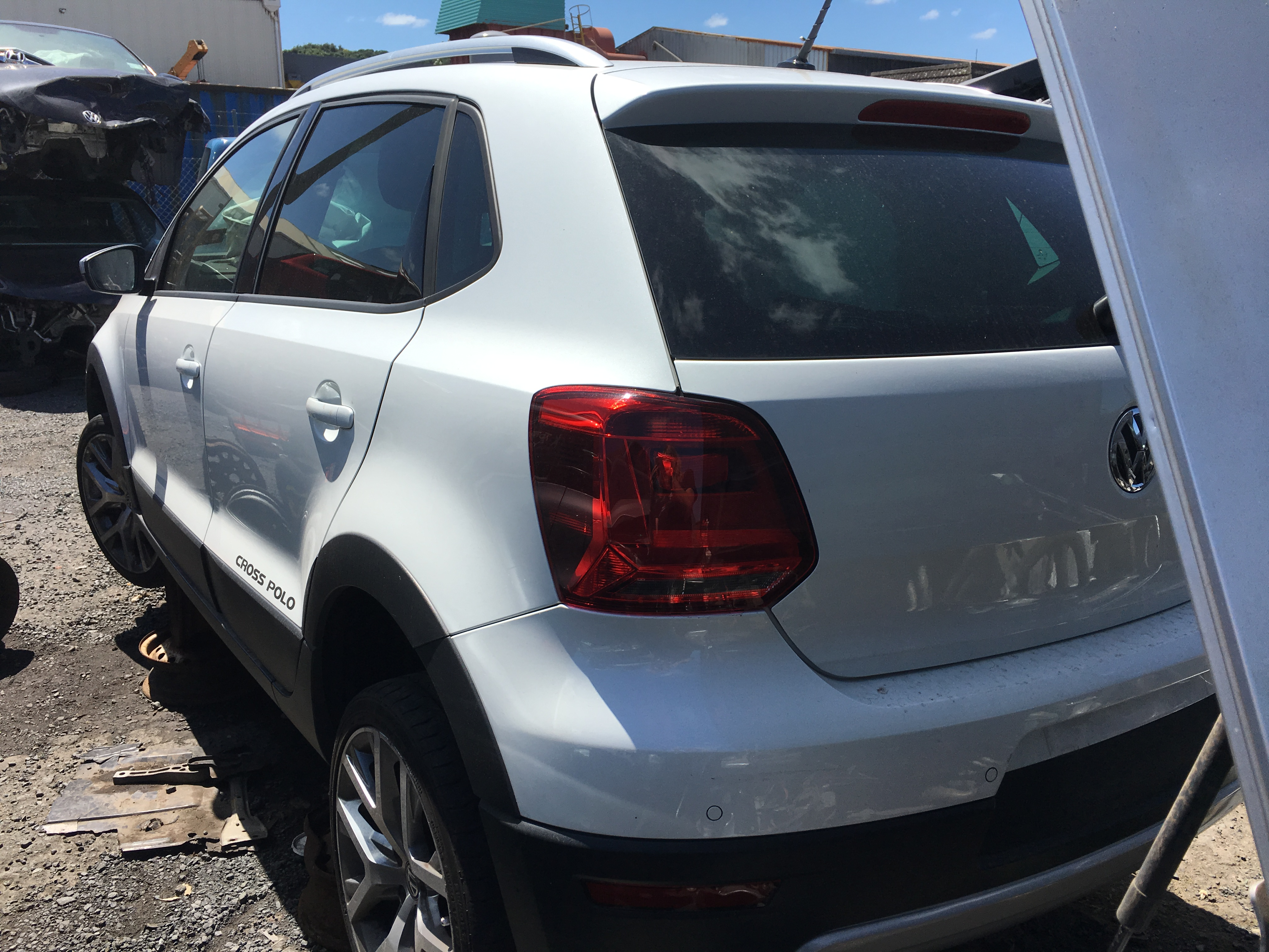 VW Polo Cross 2015