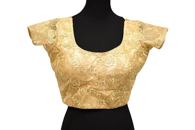 Golden Net Blouse