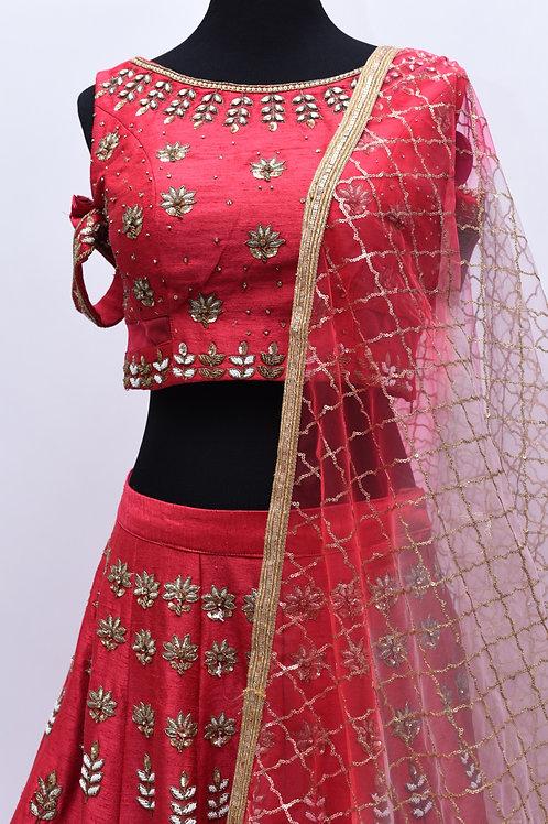 Pink Bridal Lehanga