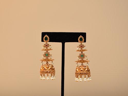 Dangler Jhumka Earring