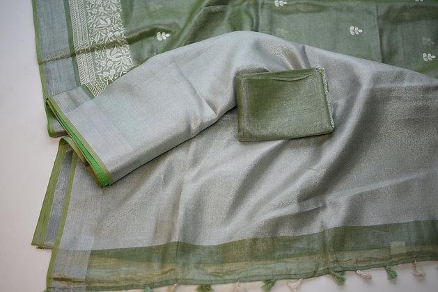 Asparagus Green Tissue Linen