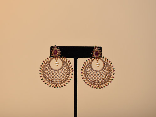 Chanbali Gold Earring