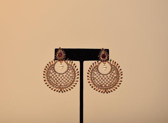 Chanbali Gold Earring