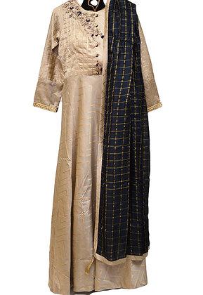 Beautiful Golden silk Suit