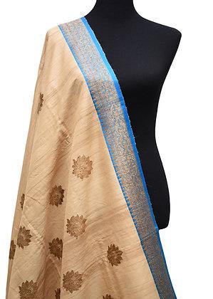Pure Banarasi handloom tussar silk saree