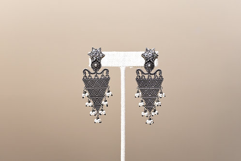 German Silver Earring