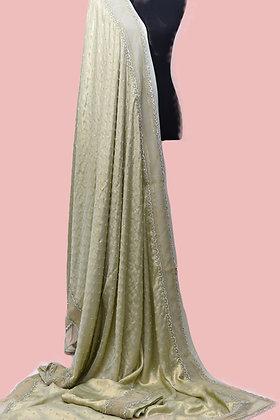 Mint Green Designer Saree