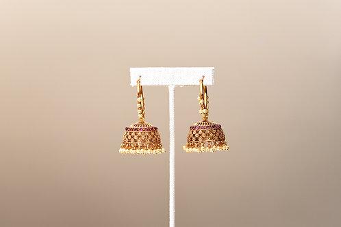 Hoop Jhumka Earring
