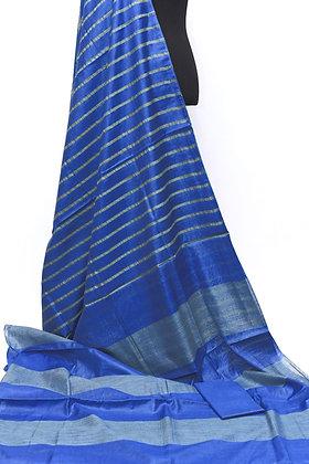 Beautiful Blue Kota Silk Saree