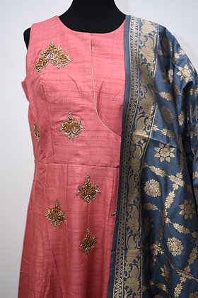 Pretty Blush Pink Salwar Suit
