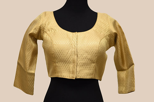 Golden Brocade Blouse