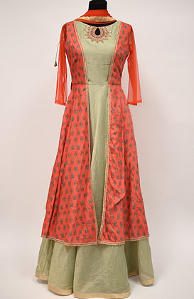 Flair Abaya Designer Suit
