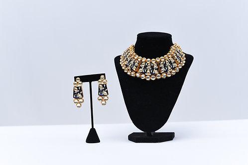 Choker Kundan Necklace Set