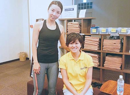 お客様が千葉アクアマリンマラソン大会において年齢別優勝しました!