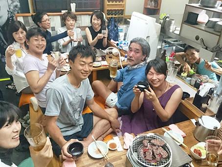 茶道とヨガの教室で「新婚さん」誕生!