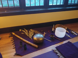 Healing sound bath by Tricia Rock