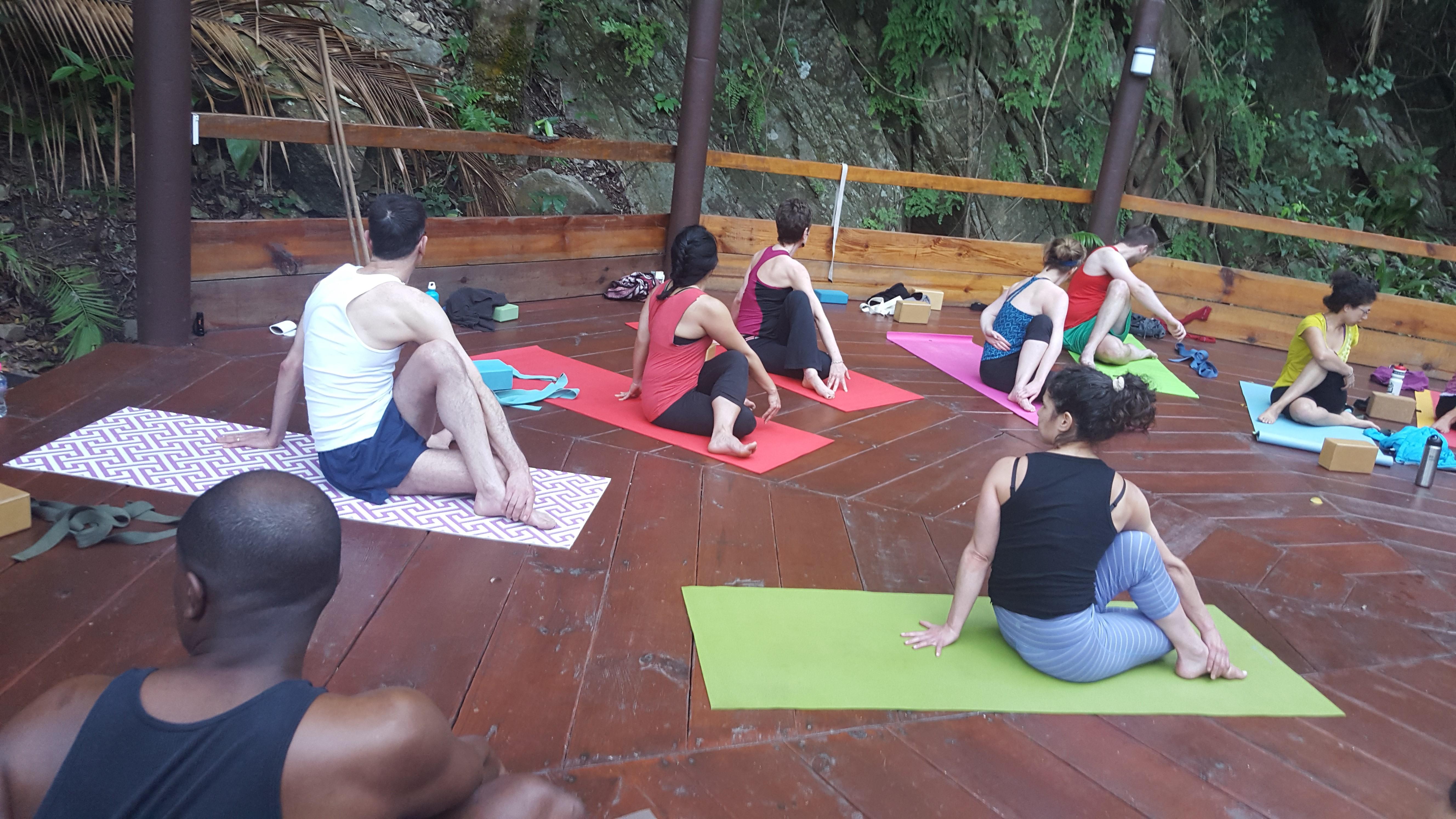 Yelapa yoga practice
