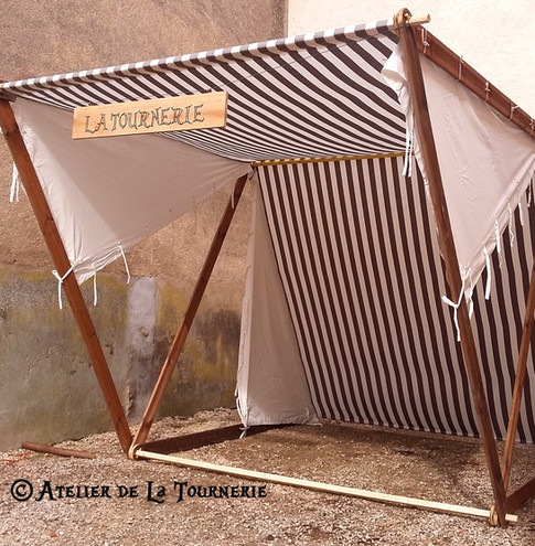 Tente style viking