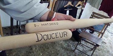 Battes personnalisées by La Tournerie - Tourneur sur bois 58