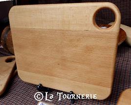 planche à découper bois by La Tournerie