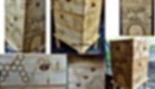 Ruche personnalisée by La Tournerie - Tourneur sur bois 58