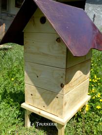 ruche en bois - La Tournerie