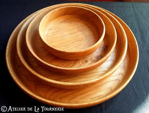 assiette bois by La Tournerie