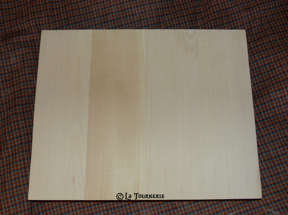 Planche simple en tilleul made in La Tournerie