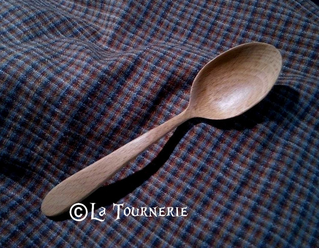 cuillère en bois - La Tournerie