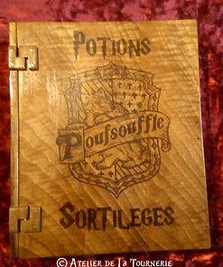 Livre Grimoire Harry Potter by La Tournerie - Tourneur sur bois 58