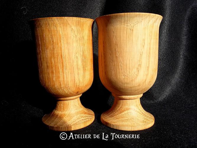 Timbale en bois - La Tournerie