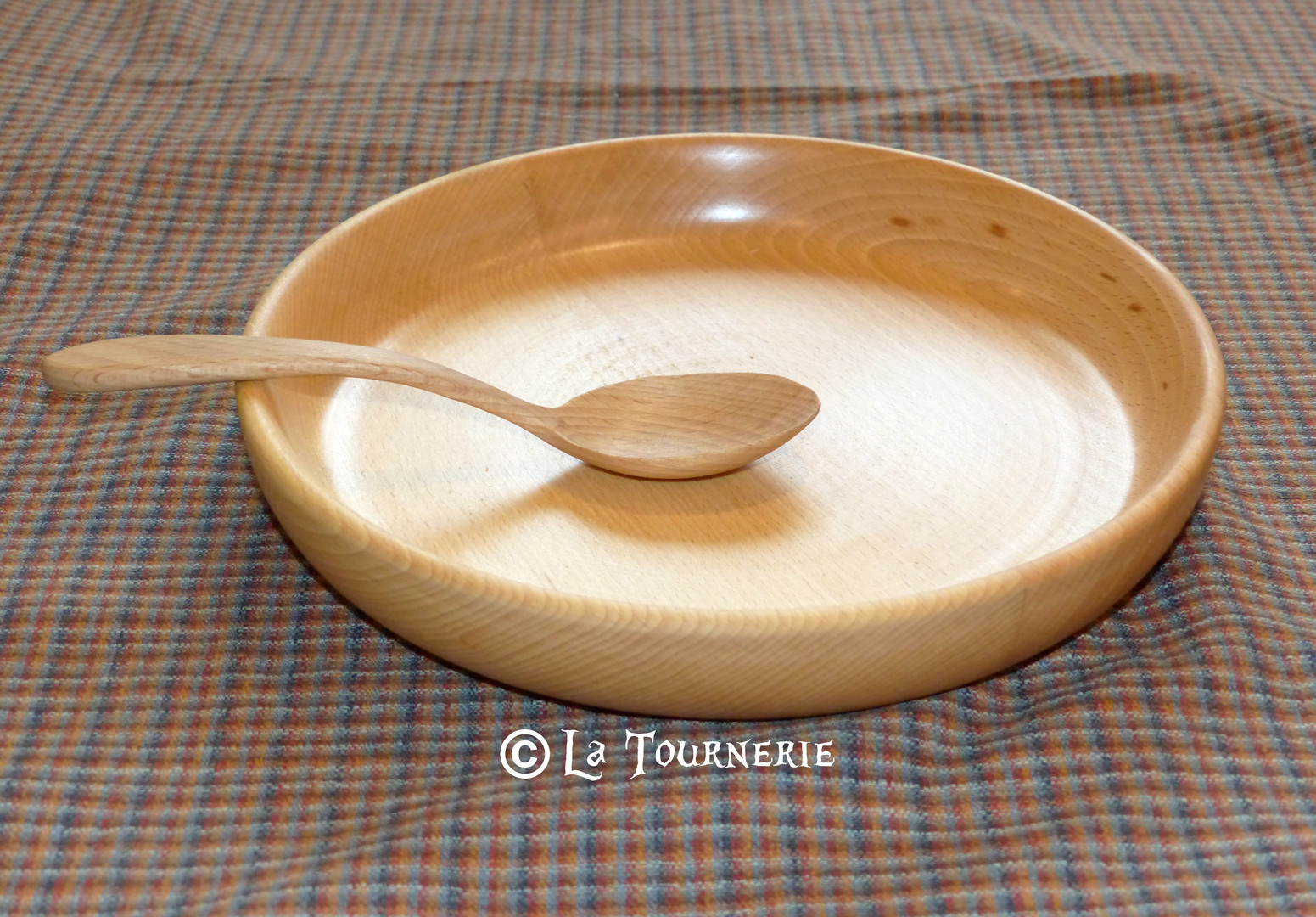 "Assiette ""Packtage"" - La Tournerie"