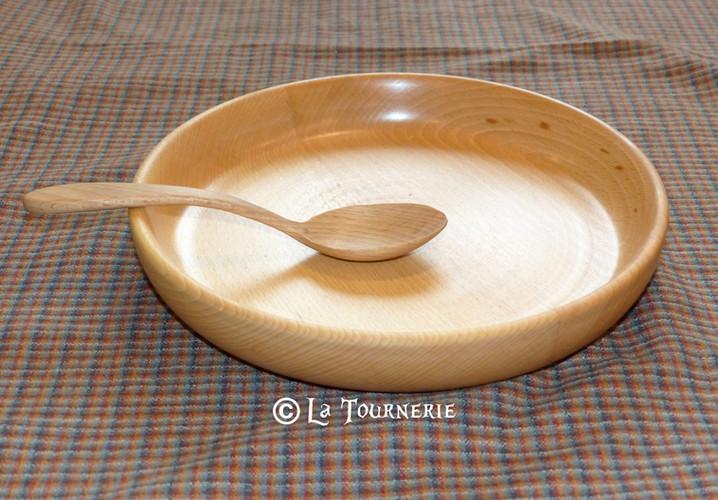 """Assiette """"Packtage"""" - La Tournerie"""