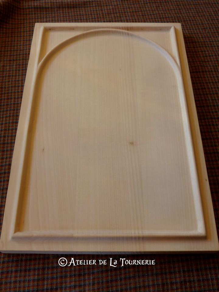 Planche complexe en alcôve