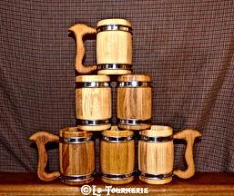 chope calice bois by La Tournerie