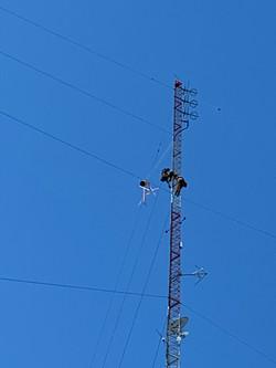 Installing 96.9 Antenna