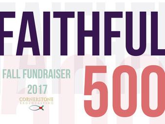 September 2017: FAITHFUL 500