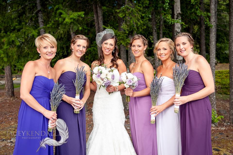 Jessica's Beautiful Bridesmaids